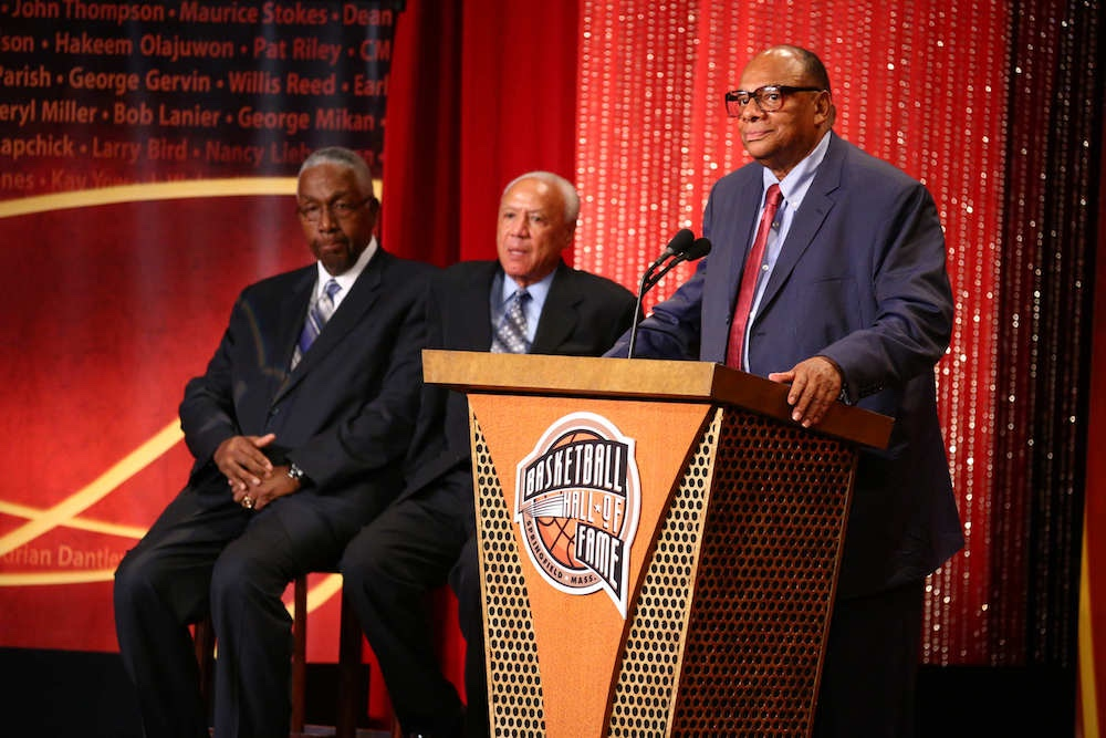 2015 Basketball Hall of Fame Enshrinement Ceremony